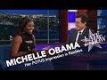 First Lady Michelle Obama Does Her Best Barack Impression -
