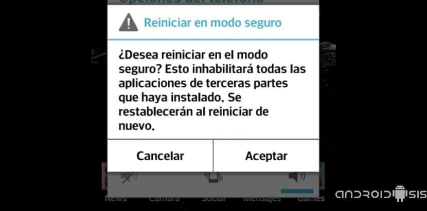 problemas con android solucionalos entrando en modo seguro 4 ¿Problemas con Android?, solucionalos entrando en modo seguro