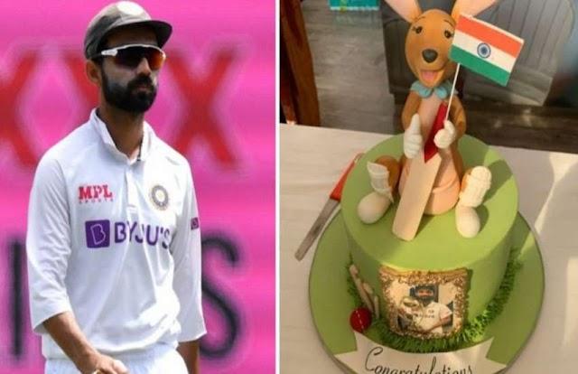 रहाणे ने बताया, ऑस्ट्रेलिया दौरे से स्वदेश लौटने के बाद क्यों नहीं काटा 'कंगारू' वाला केक