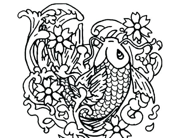 Detailed Fish Coloring Pages at GetColorings.com   Free ...