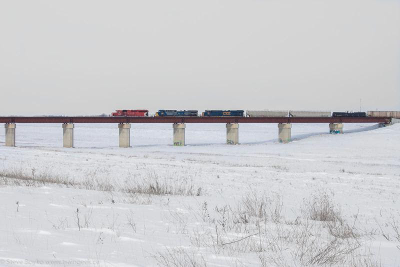 CP 6029 CSX 442 CSX 861 Winnipeg