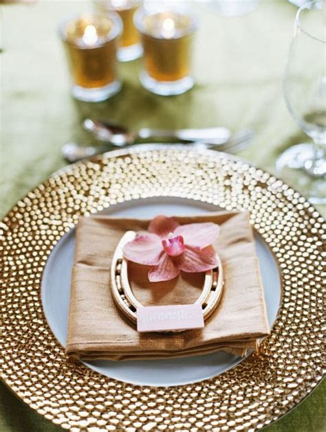 Equestrian Table Settings   A Western Rustic Home