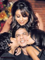 Shah Rukh & Famliy