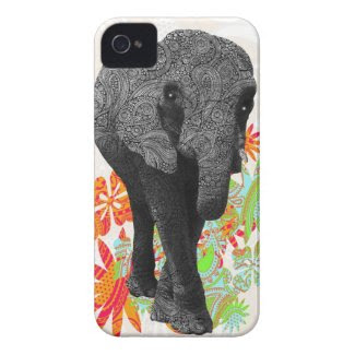 Cute Hippie Elephant casemate_case