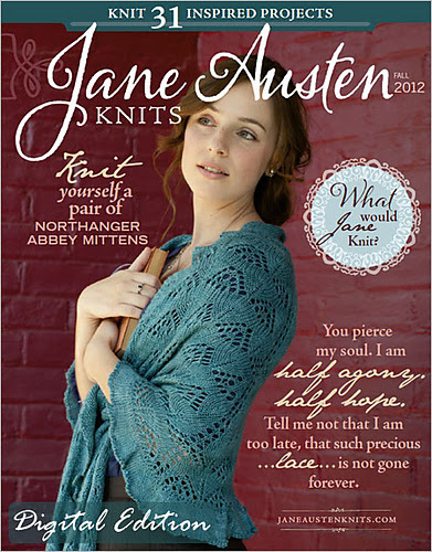 Lady Russell Shawl in Jane Austen Knits Fall 2012 issue Interweave