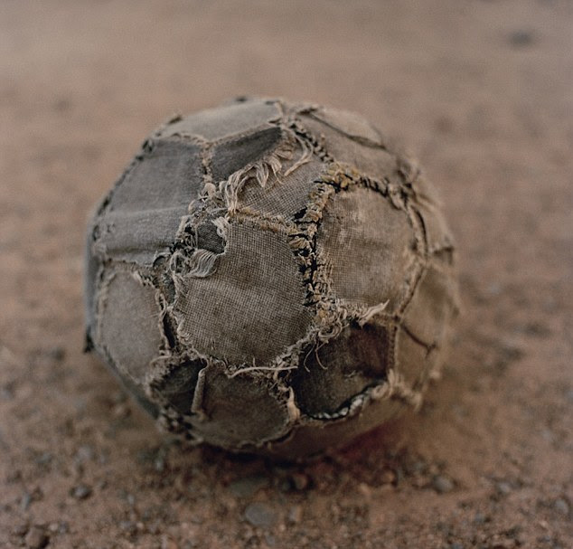 Jessica Hilltout traveled around Africa with deflated soccer balls and watched as children managed to find use for them