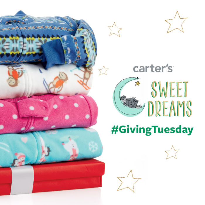 Give Sweet Dreams When You Buy Jammies with @Carter's #GivingTuesday!