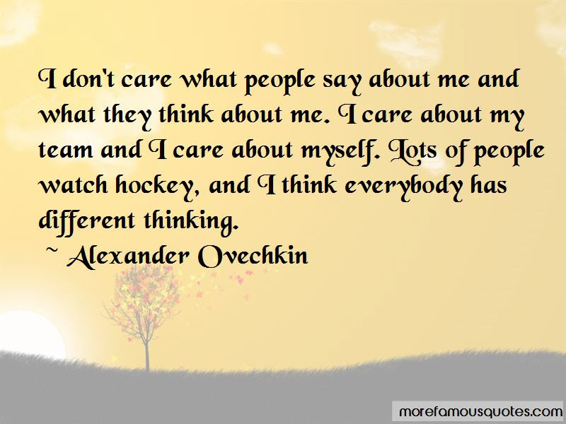 What They Think About Me Quotes Top 41 Quotes About What They Think