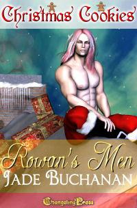 SPOTLIGHT: Christmas Cookies: Rowan's Men by Jade  Buchanan