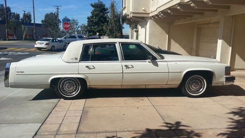 Sell used 1987 Cadillac Fleetwood Brougham D'Elegance in ...