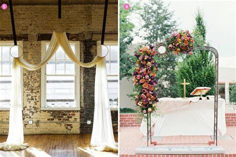Design Inspiration: Creative Wedding Arch Ideas