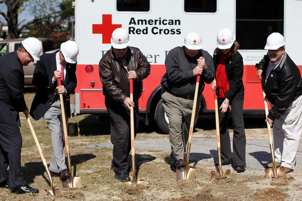 Lowcountry Red Cross Groundbreaking