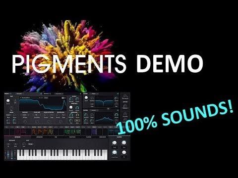 MATRIXSYNTH: 100% arturia Pigments sounds demo track + free