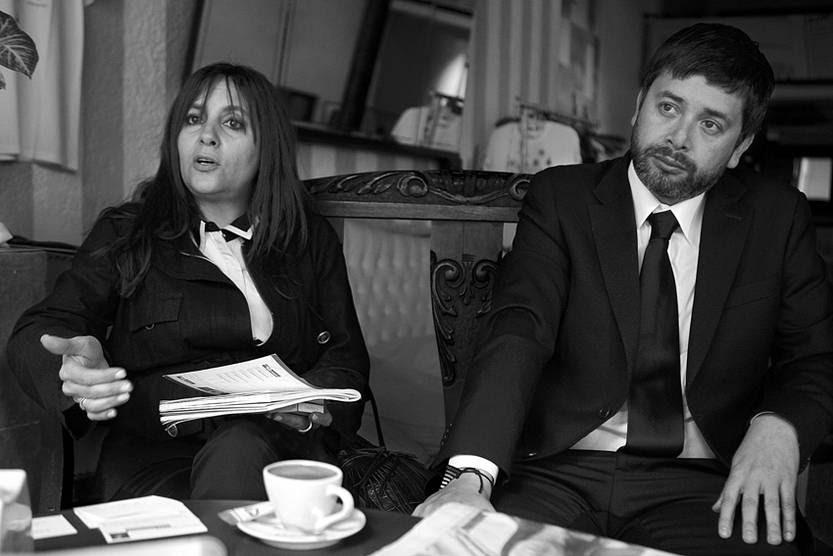 Ana María Jerez y Daniel Urrutia.