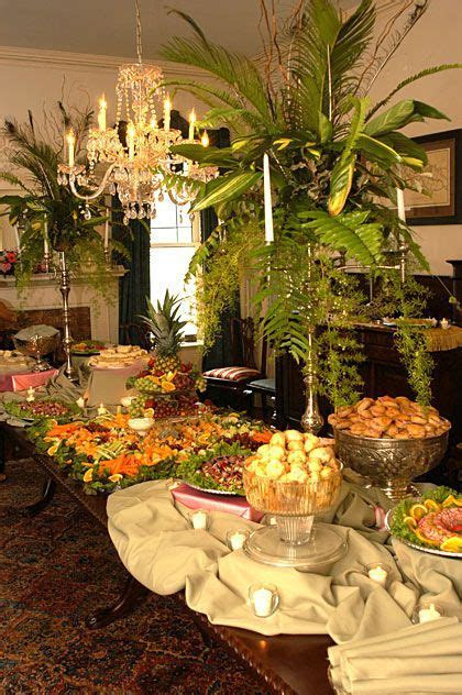 Wedding Buffet Table Pictures   Buffet table floral