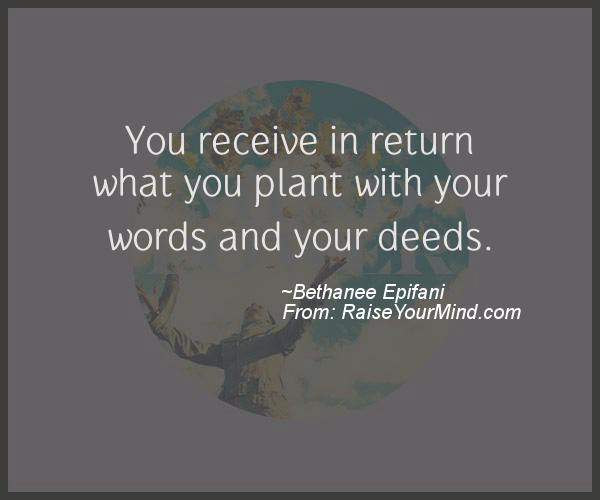Motivational Inspirational Quotes You Receive In Return What You