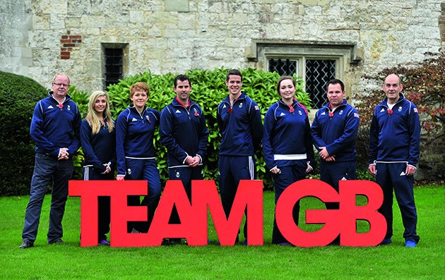 TeamGB announcement of shooting athletes for Rio 2016 Olympics. Bisham Abbey. Marlow. Buckinghamshire. England. UK. 10/11/2015. MANDATORY Credit Garry Bowden/SIPPA - NO UNAUTHORISED USE - 07837 394578