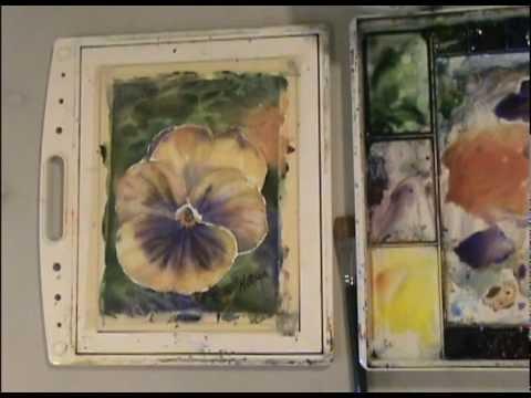 Dipinti Murali E Pittura Ad Ago : Fiori dipinti come dipingere fiori ad acquerello