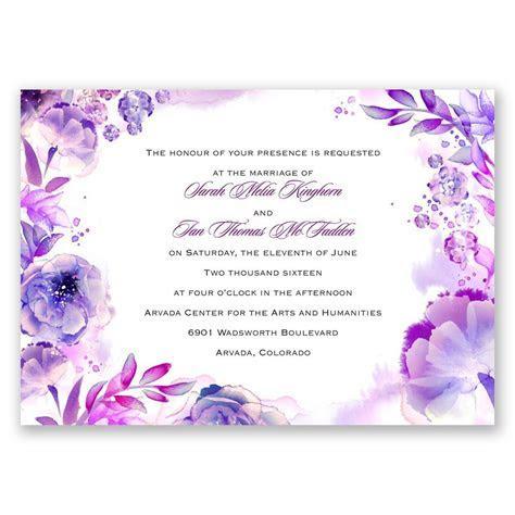Watercolor Dream Invitation   Invitations by Dawn