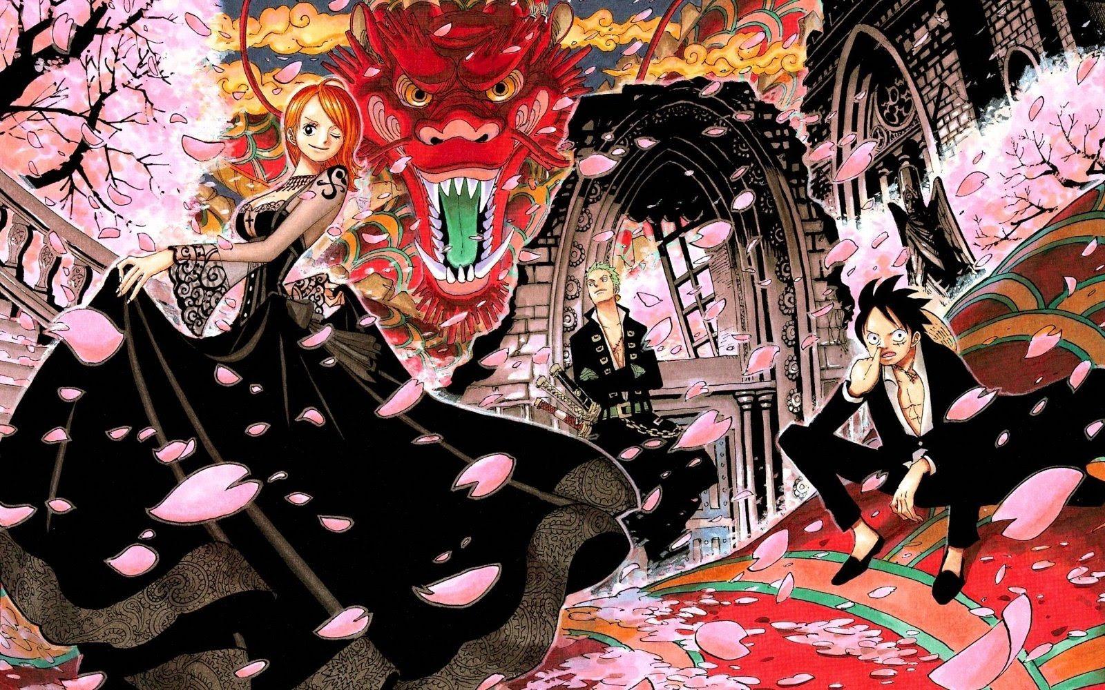 ワンピース One Piece 壁紙まとめ 尾田栄一郎 ルフィ ゾロ ナミ