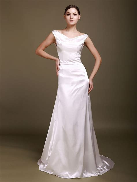 10 Best ideas about Satin Wedding Gowns on Pinterest
