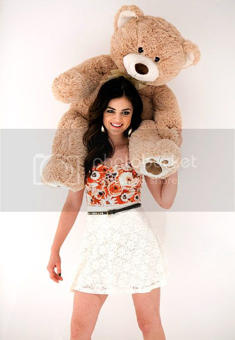 Lucy Hale for Bongo Ad