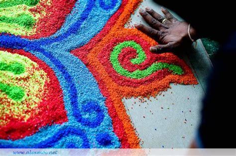 Rangoli: Traditional Indian Wedding Decoration « Marigold