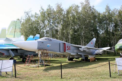 Sukhoi Su-24 54 red