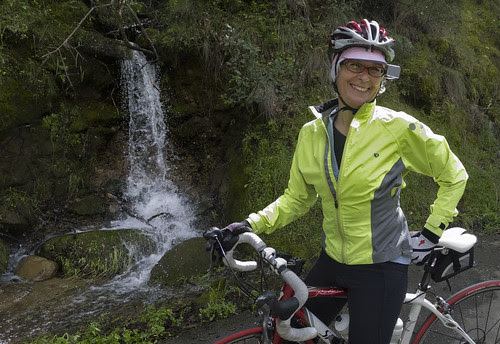 Tricia on Mix Canyon