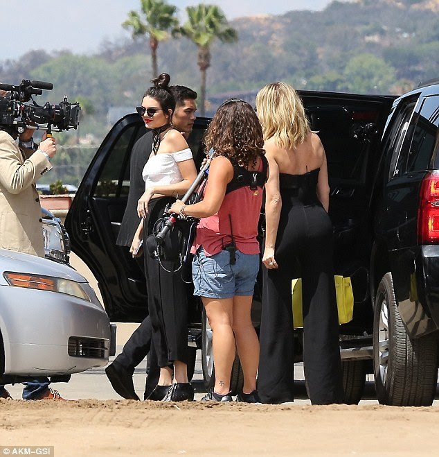 Kinda real: The Keeping Up With The Kardashians camera crews caught it all on tape for an upcoming episode of  the reality show