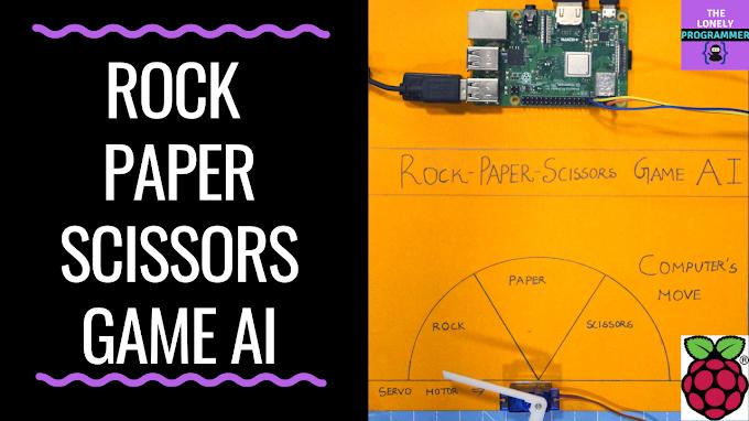 Rock Paper Scissor with Artificial Intelligence | Raspberry Pi