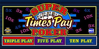 Super Times Play Video Poker