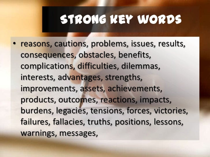how to write a thesis statement z word