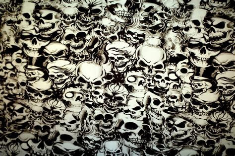 Skulls   Hydrographic Film Prints Showroom