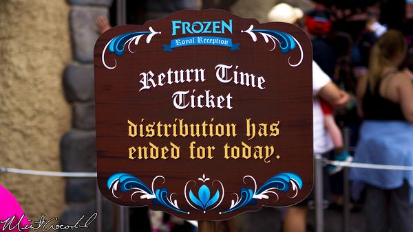 Disneyland Resort, Disneyland, Frozen, Meet and Greet, Return, Time