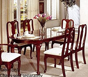 Bestseller Dining Table Queen Anne Style Cherry Finish Dining Tables Brother Fs2