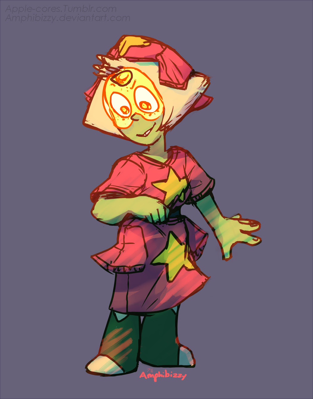 """""""""""I also do not steal Steven's clothes when he's not looking!"""" """""""