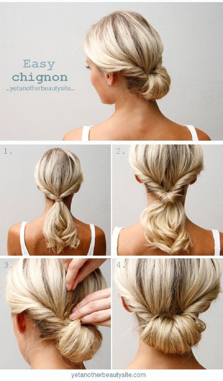 Simple And Easy 5 Minutes Hairstyle Tutorials Fashionsycom