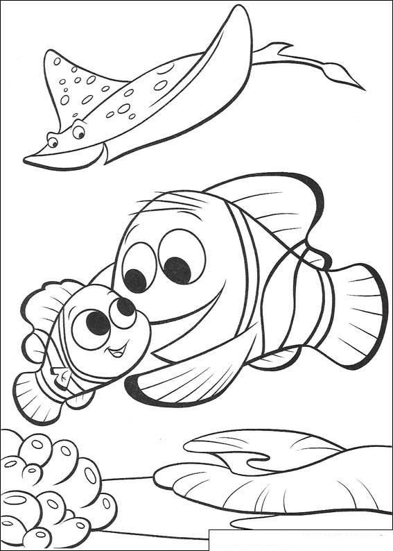 Kids N Fun Co Uk 65 Coloring Pages Of Finding Nemo Movie