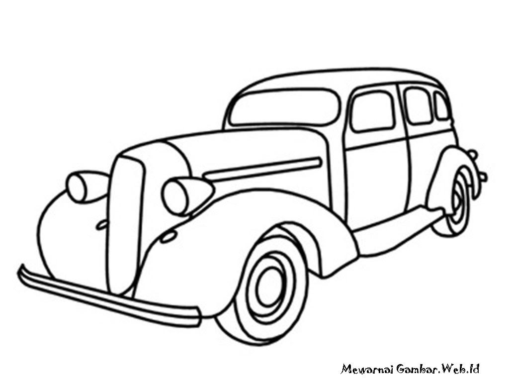 13 Mewarnai Gambar Mobil Auto Electrical Wiring Diagram