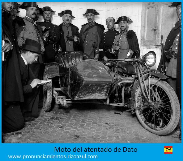 La moto del asesinato de Dato Iradier