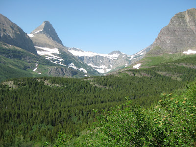 View to Iceberg Lake