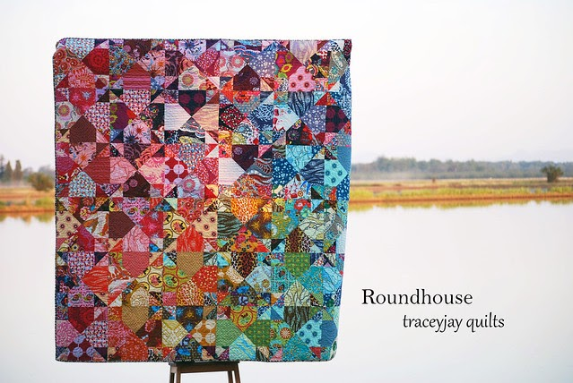 Traceyjay Quilts Roundhouse Finished And Published