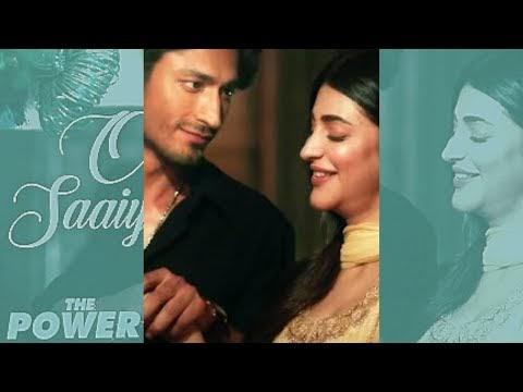 Oh Saaiyaan Status Full Screen   The Power   Arijit Singh   Vidyut - Shruti   Moumik Status