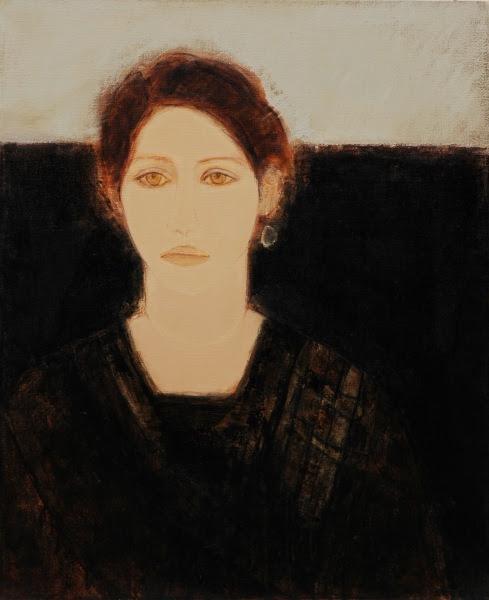 portraits: Nayeli - 73x60 - oil on canvas