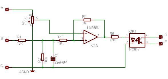 đài phát thanh-kiểm soát-switch-LM358
