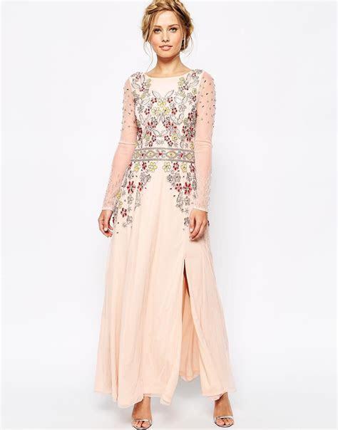 Elegant Wedding Guest Dresses Maxi   raveitsafe