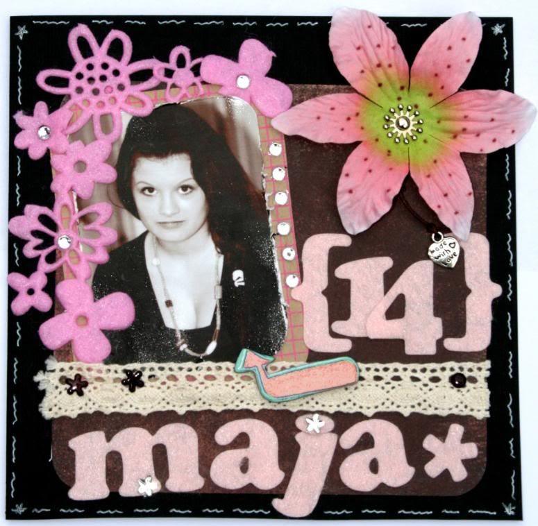 Forside kort - Maja Elise 14 år