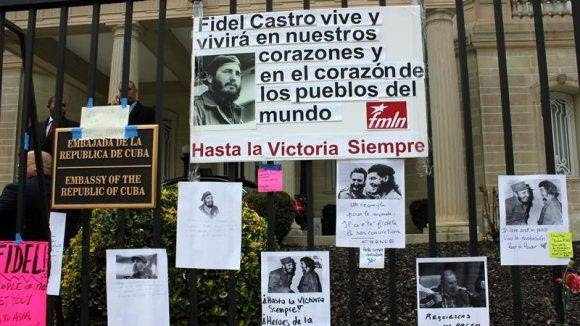 Embajada de Cuba en Washington. Foto: EFE