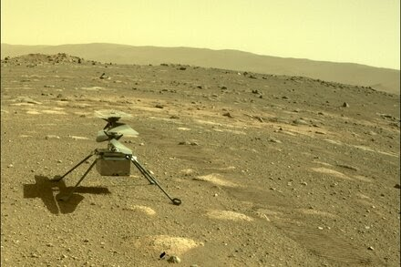 NASA Mars Helicopter's First Flight: When to Watch
